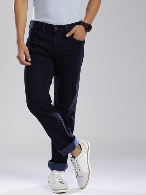 Levi's Navy Slim Fit Stretchable Jeans 511
