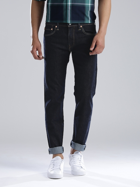 Levi's Navy Slim Fit Stretchable Jeans 511  available at myntra for Rs.3289