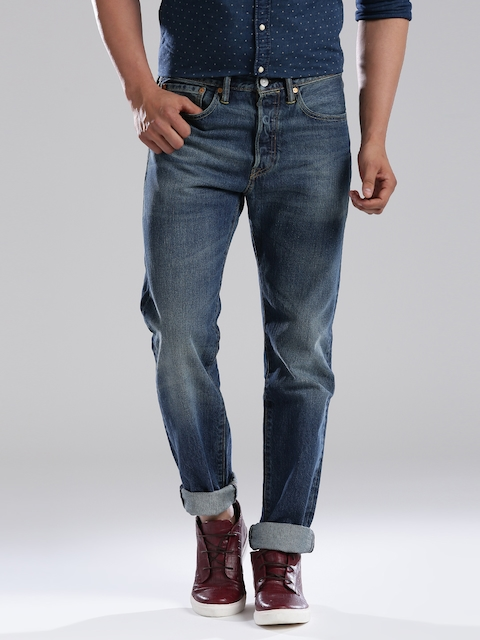 Levi's Blue Tapered Jeans 501  available at myntra for Rs.2660
