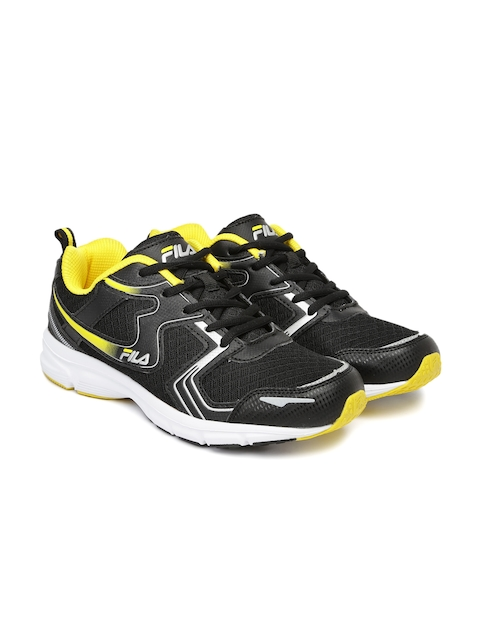 FILA Men Black BARREL IV Running Shoes  available at myntra for Rs.869