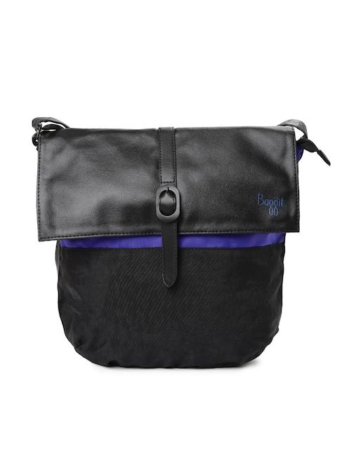 Baggit Black Eddy Excel Sling Bag
