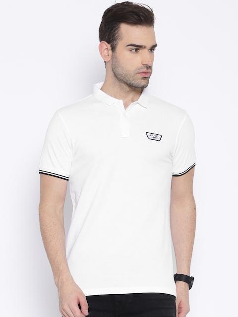 Vans White Polo T-shirt
