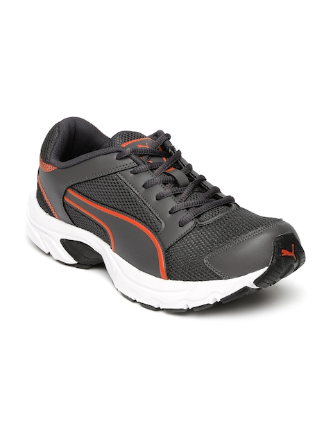 PUMA Men Grey Splendor DP Running Shoes  available at myntra for Rs.869