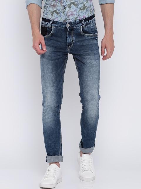 Mufti Blue Super-Slim Stretchable Jeans