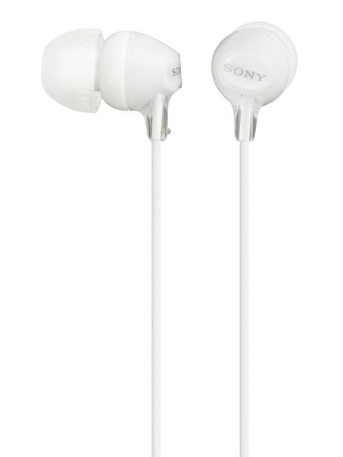 Sony White Headphones with Mic