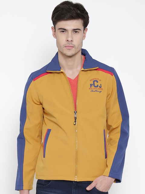 Fort Collins Mustard Yellow & Blue Jacket