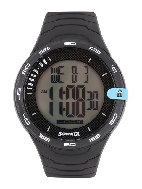 Sonata 77041PP03 Digital Watch