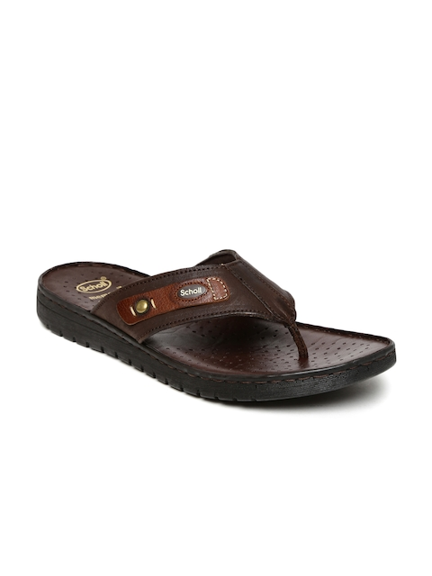 Dr. Scholl Men Brown Sandals  available at myntra for Rs.1399