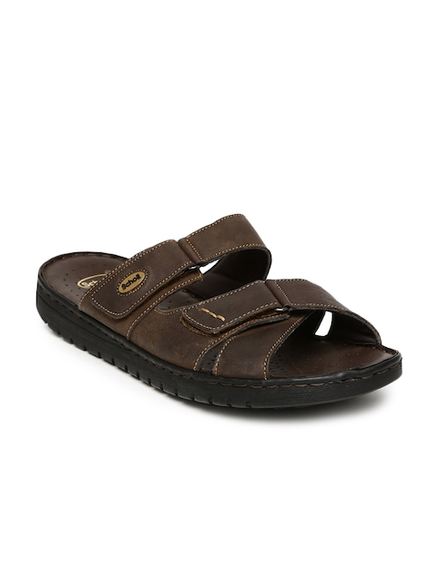 Dr. Scholl Men Brown Sandals  available at myntra for Rs.1609