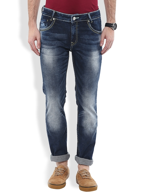 Mufti Navy Super Slim Jeans