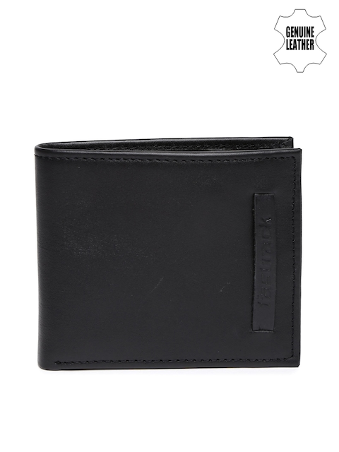 Fastrack Men Black Leather Wallet