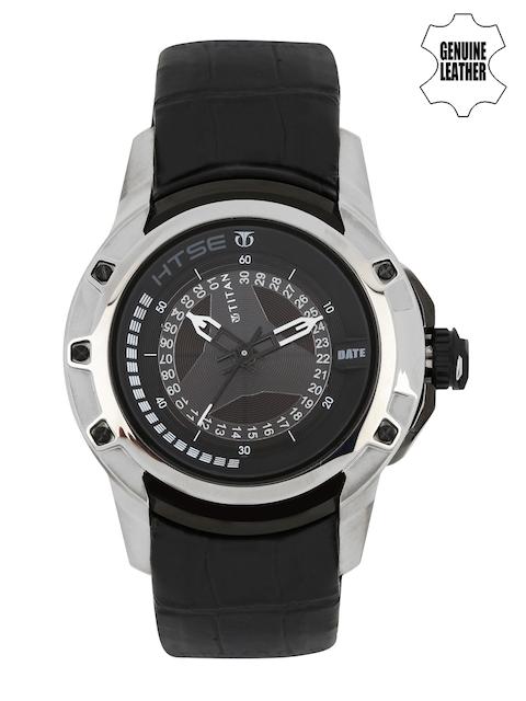 Titan HTSE Analog Black Dial Men's Watch, 1540KL02