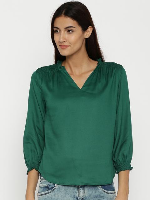 Van Heusen Woman Green Top