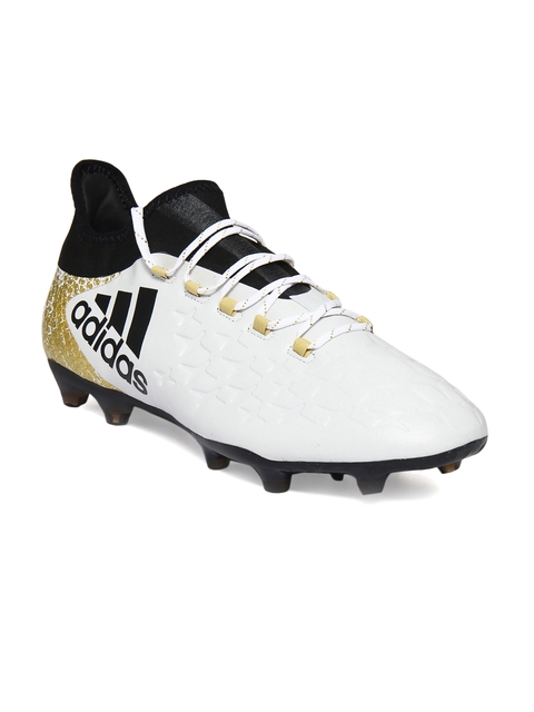 Adidas Men White Printed X 16.2 Football Shoes