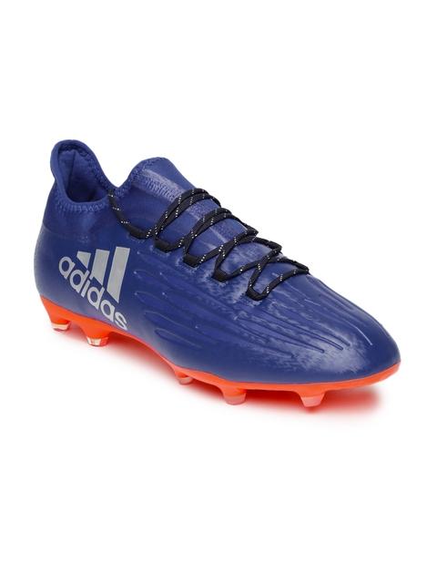 Adidas Men Blue Techfit X 16.2 Football Shoes