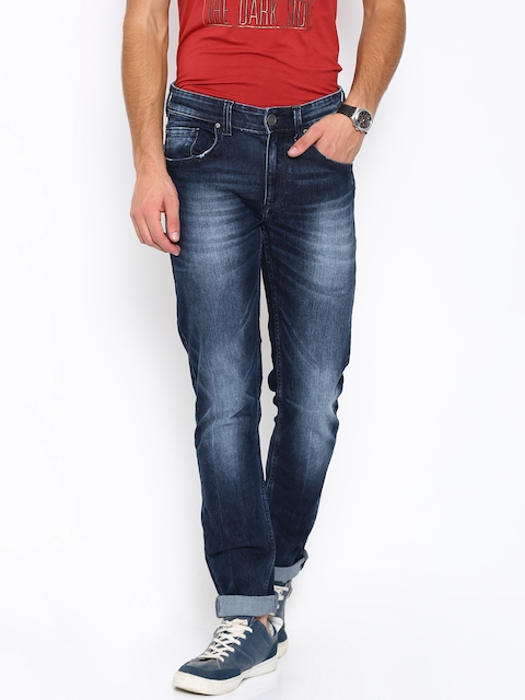 SPYKAR Men Blue Rover Slim Fit Low-Rise Stretchable Jeans  available at myntra for Rs.1039