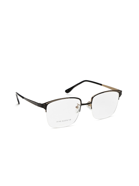 Mast & Harbour Men Black Square Frames MFB-PI-J9149-B