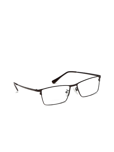 Mast & Harbour Men Grey Rectangular Frames