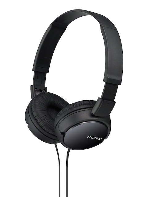 Sony Black Over-Ear Headphones without Mic  available at myntra for Rs.841