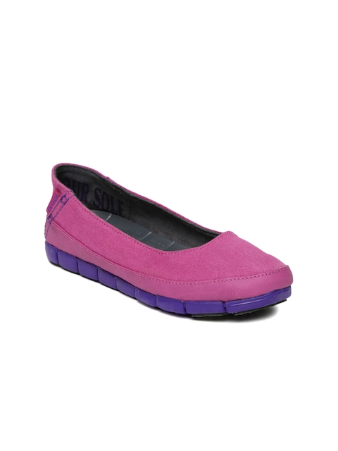 Crocs Women Pink Flat Shoes