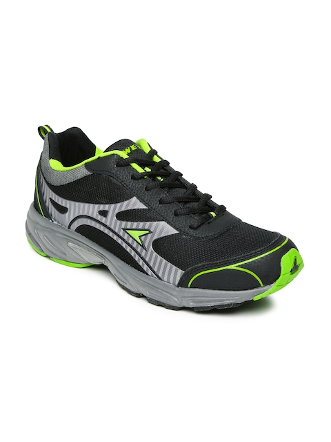 Power Men Black Elite Running Shoes