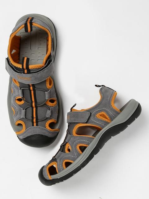 Roadster Men Grey Sports Sandals