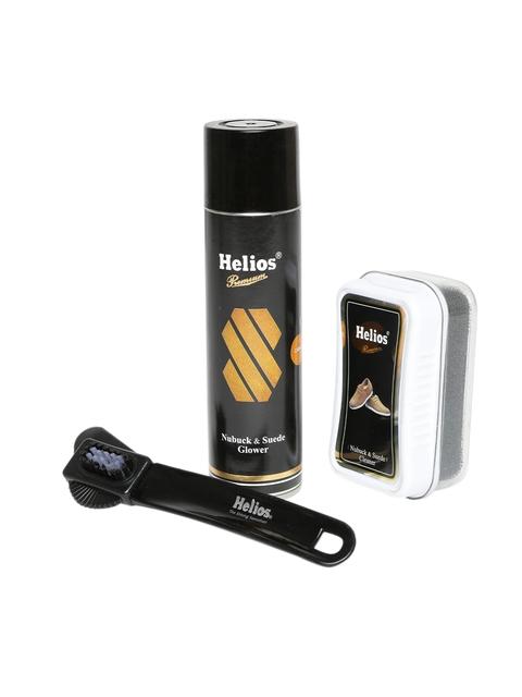 Helios Camel Nubuck & Suede Mega Shoe Care Kit