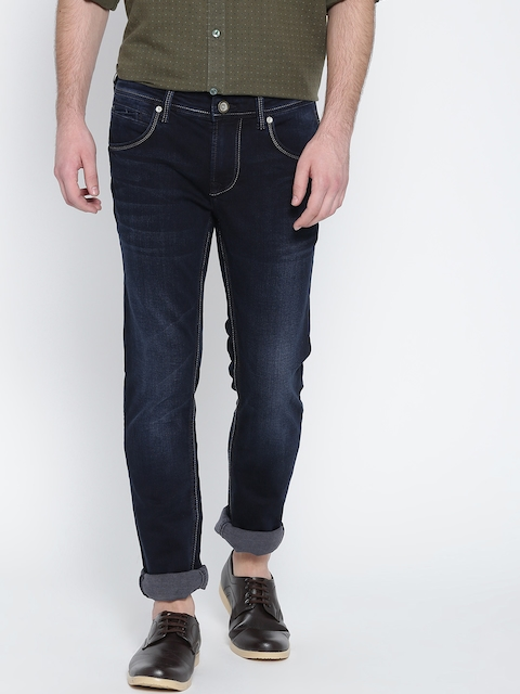 Killer Men Blue Skinny Fit Mid Rise Clean Look Jeans  available at myntra for Rs.2159
