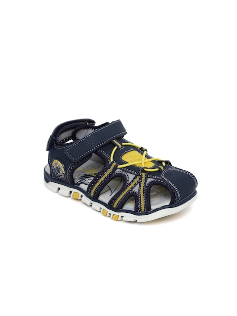 Juniors by Lifestyle Boys Navy & Grey Sports Sandals