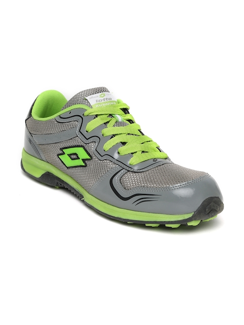 Lotto Men Grey Running Shoes