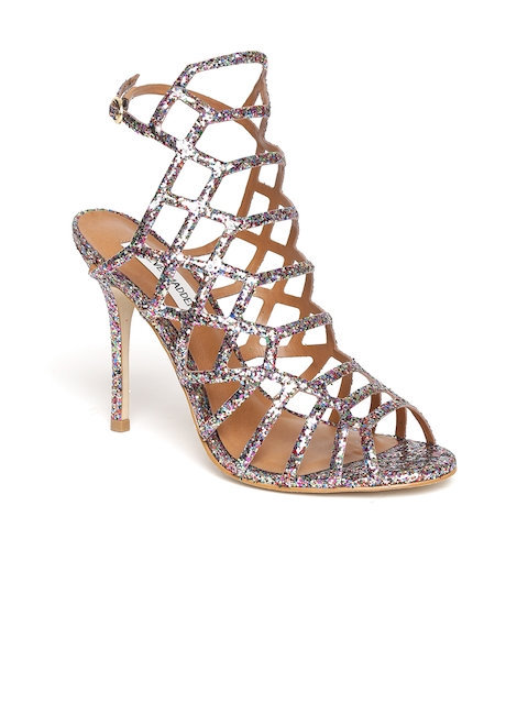 Steve Madden Women Multicoloured Sequinned Gladiators