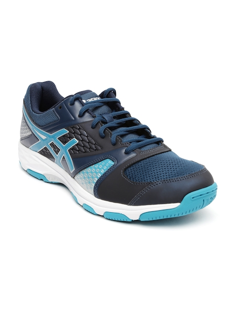ASICS Men Navy Blue Gel-Domain 4 Multicourt Shoes
