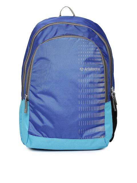 Aristocrat Unisex Blue Backpack