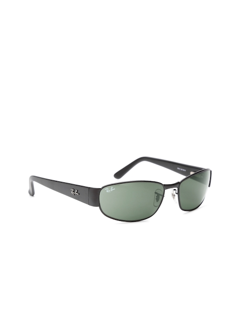 Ray-Ban Men Rectangular Sunglasses 0RB3141I00660-6