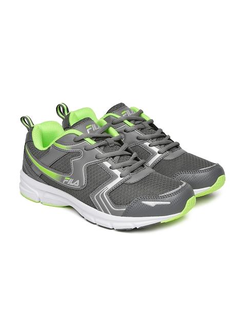 FILA Men Grey Running Shoes