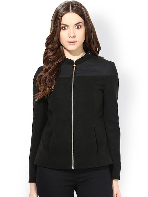 The Vanca Black Fleece Jacket