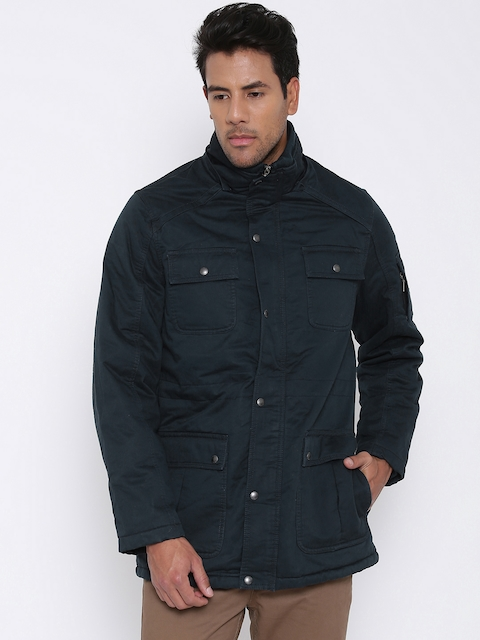 U.S. Polo Assn. Navy Padded Jacket with Detachable Hood