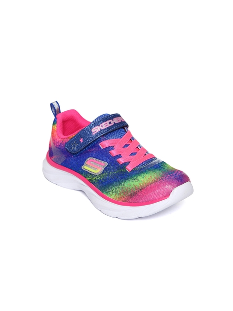 Skechers Girls Multicoloured Printed Sneakers