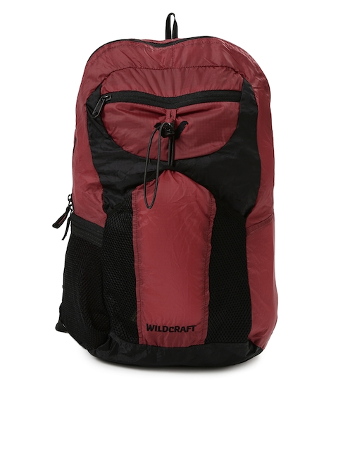 Wildcraft Men Maroon Foldable Backpack