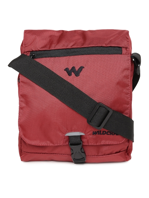 Wildcraft Men Red Messenger Bag  available at myntra for Rs.539
