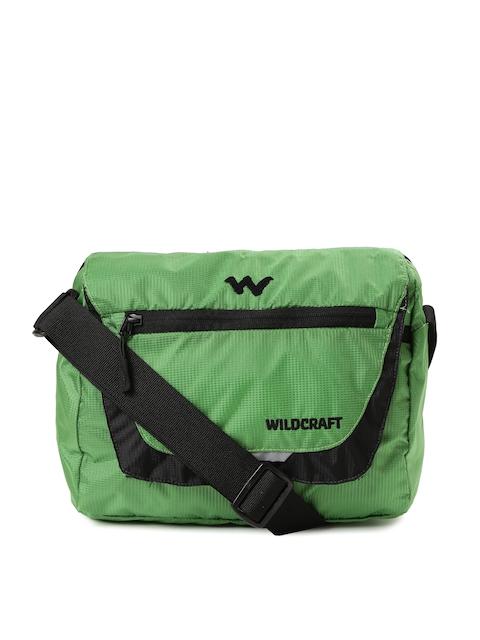 Wildcraft Men Green Messenger Bag