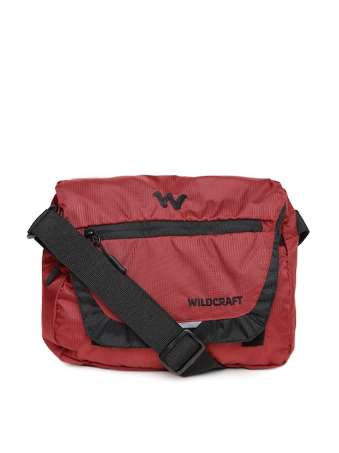 Wildcraft Men Red Drut Mini Messenger Bag  available at myntra for Rs.549