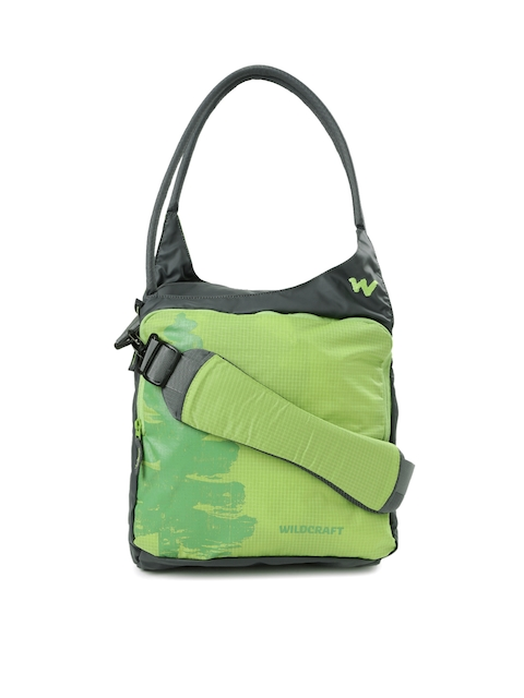 Wildcraft Green Printed Messenger Bag
