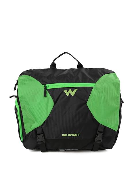 Wildcraft Men Green & Black Ard Messenger Bag