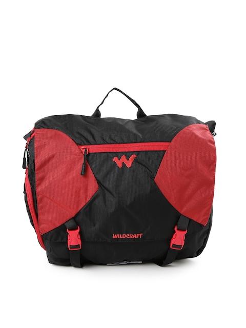 Wildcraft Men Red & Black Ard Messenger Bag