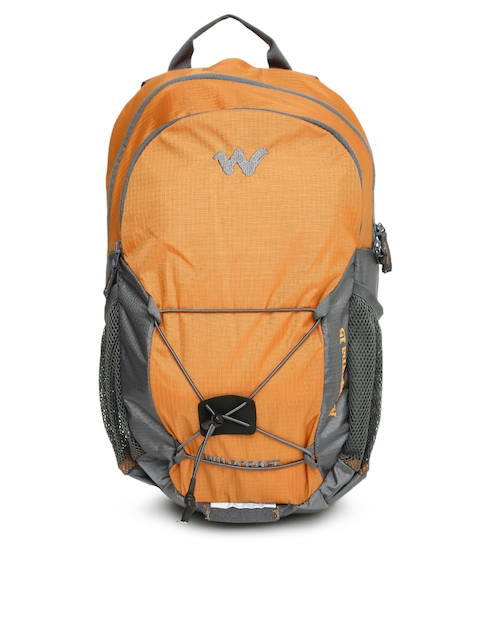Wildcraft Men Orange & Grey Annapurna Rucksack