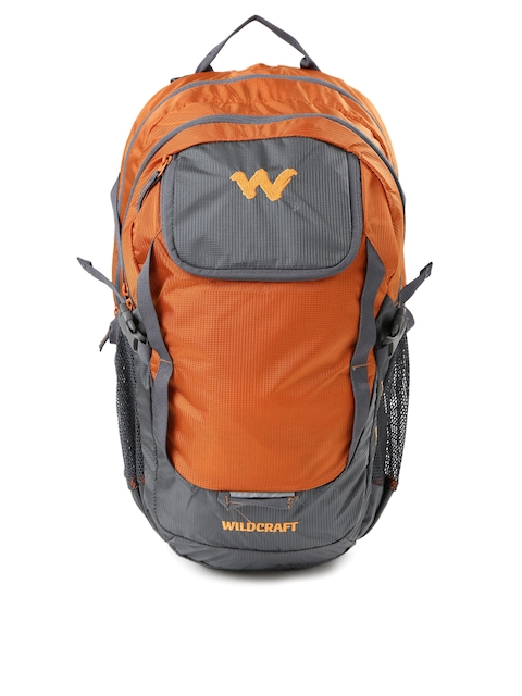 Wildcraft Men Orange & Grey Annapurna Rucksack  available at myntra for Rs.2649