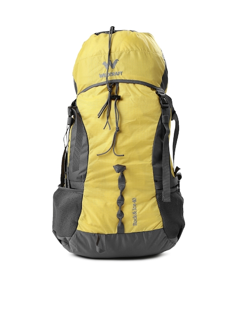 Wildcraft Men Yellow & Grey Rock & Ice Rucksack
