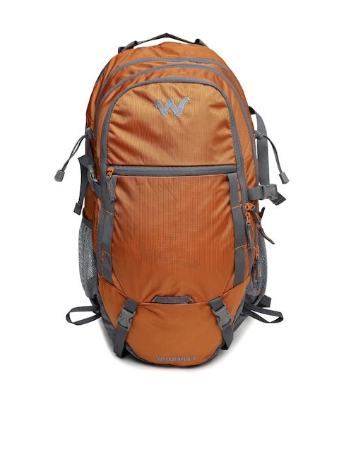 Wildcraft Men Orange & Grey Annapurna 30 Rucksack