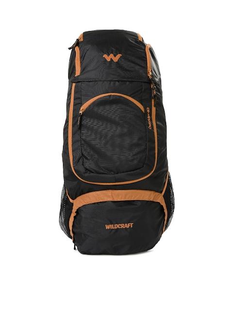 Wildcraft Unisex Black & Orange Outrider Rucksack
